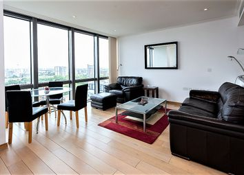 Thumbnail 1 bed flat to rent in Hertsmere Road, West India Quay