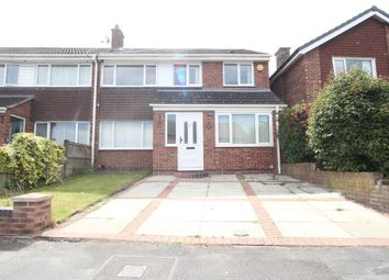 Thumbnail 4 bed semi-detached house to rent in Helston Avenue, Halewood, Liverpool, Merseyside