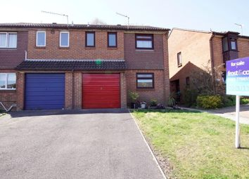 Thumbnail 3 bedroom semi-detached house for sale in Tollard Close, Parkstone, Poole