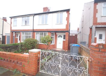 Thumbnail 3 bedroom semi-detached house to rent in Halifax Street, Blackpool, Lancashire
