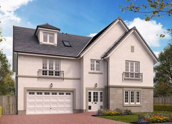 "Thumbnail 5 bedroom detached house for sale in ""The Rutherford"" at Wilkieston Road, Ratho, Newbridge"