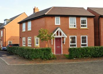 Thumbnail 3 bed detached house for sale in Pentland Road, Ashby-De-La-Zouch