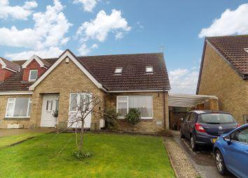 Thumbnail 2 bed semi-detached house for sale in Foxfields, Brackla, Bridgend.