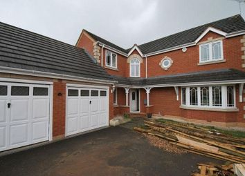 Thumbnail 5 bed detached house for sale in Lilacvale Way, Coventry
