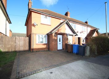 Thumbnail 2 bed end terrace house for sale in Kelly Road, Ipswich