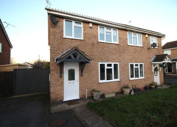 Thumbnail 3 bed semi-detached house to rent in Coulson Close, Whetstone, Leicester