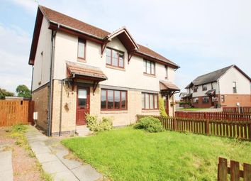 Thumbnail 3 bed semi-detached house for sale in Buntens Close, Cumnock, East Ayrshire