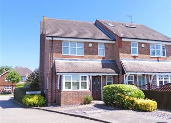 Thumbnail 3 bed semi-detached house for sale in Upfield, Horley, Surrey