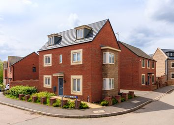 Thumbnail 4 bed detached house for sale in Rowthorne Close, Northampton