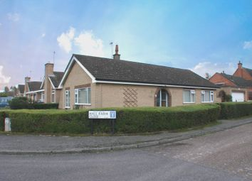 Thumbnail 3 bed detached bungalow for sale in Hall Farm Close, Tollerton, Nottingham