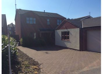 Thumbnail 4 bed detached house for sale in Walton Way, Stone