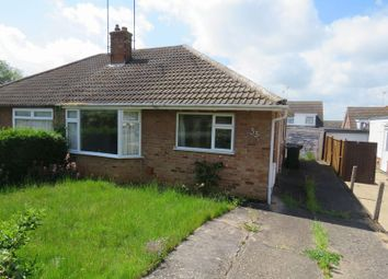 Thumbnail Semi-detached bungalow for sale in Plumtree Avenue, Wellingborough