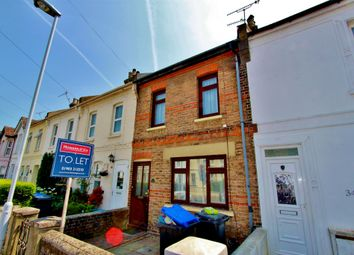 Thumbnail 2 bedroom terraced house to rent in Becket Road, Worthing