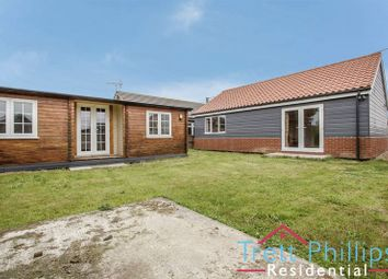 Thumbnail 2 bed detached bungalow for sale in Abbotts Way, Bush Estate, Eccles-On-Sea, Norwich