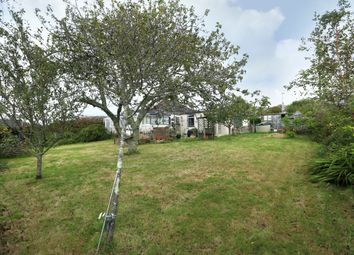 Thumbnail 3 bed detached bungalow for sale in Cross Park Road, Wembury, Plymouth