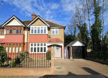 Thumbnail 3 bed flat to rent in Surbiton Hall Close, Kingston Upon Thames
