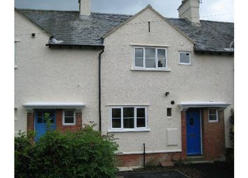 Thumbnail 2 bed terraced house to rent in Chestnut Avenue, Littleton, Winchester