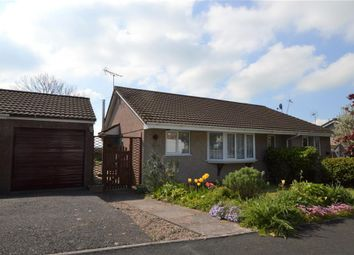 Thumbnail 2 bed semi-detached bungalow for sale in Orchard Way, Lapford, Crediton, Devon