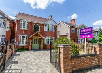 Thumbnail 6 bed detached house for sale in Ashby Road, Hinckley