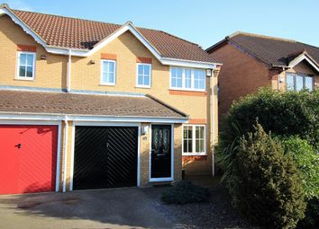 Thumbnail 3 bedroom semi-detached house for sale in Priorswood, Thorpe Marriot, Norwich