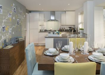 "Thumbnail 4 bed detached house for sale in ""Hertford"" at Locksbridge Road, Picket Piece, Andover"