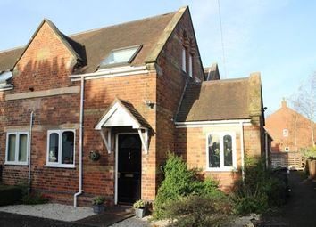 Thumbnail 4 bed end terrace house for sale in The Green, Markfield, Leicestershire