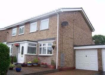 Thumbnail 3 bedroom semi-detached house to rent in Greely Road, Westerhope, Newcastle Upon Tyne