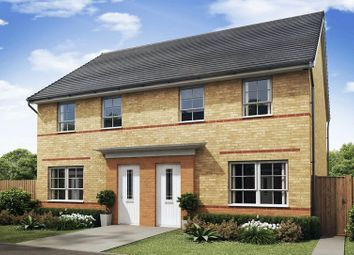 Thumbnail 3 bed semi-detached house for sale in Aurelius Way, North Hykeham, Lincoln