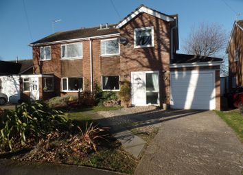 Thumbnail 5 bedroom semi-detached house for sale in Rivehall Avenue, Welton, Lincoln
