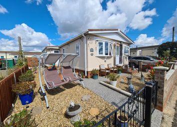 Thumbnail 3 bed mobile/park home for sale in Pioneer Caravan Site, Eye, Peterborough