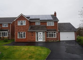 Thumbnail 5 bed detached house for sale in Oak Road, Shrewsbury