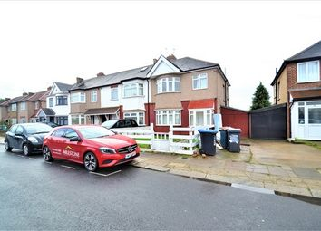 Thumbnail 4 bed semi-detached house to rent in Lewis Crescent, Neasden, London