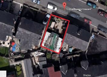 Thumbnail Land for sale in Shakespeare Crescent, Eccles, Manchester