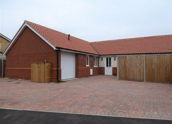 Thumbnail 3 bed detached bungalow for sale in Crown Road, Christchurch, Wisbech