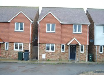 Thumbnail 4 bed semi-detached house to rent in Orchard Way, Westfield, Hastings, East Sussex