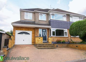 Thumbnail 4 bed semi-detached house for sale in Maycroft Road, Cheshunt, Waltham Cross