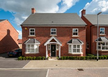 Thumbnail 4 bed detached house for sale in Lightning Lane, Castle Donington, Derby