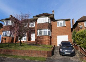 Thumbnail 4 bed semi-detached house for sale in Harbury Road, Carshalton