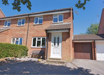 Thumbnail 3 bed semi-detached house for sale in Knowledge Hill, Ramsbury