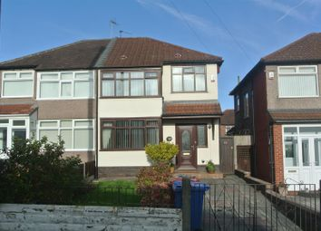 Thumbnail 3 bed semi-detached house for sale in Hilary Avenue, Huyton, Liverpool