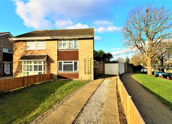 Thumbnail 4 bed semi-detached house for sale in Hillmead, Crawley, West Sussex.