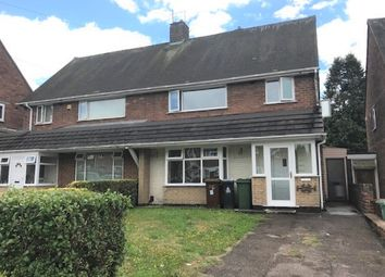 Thumbnail 3 bedroom semi-detached house to rent in Exeter Place, Alumwell, Walsall