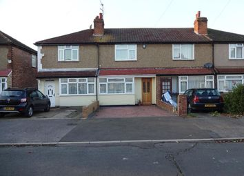 Thumbnail 2 bed terraced house to rent in Warwick Crescent, Hayes