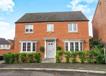 Thumbnail 4 bedroom detached house for sale in Pippin Close, Selston, Nottingham