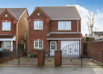Thumbnail 4 bed detached house to rent in Greenly Road, Wolverhampton