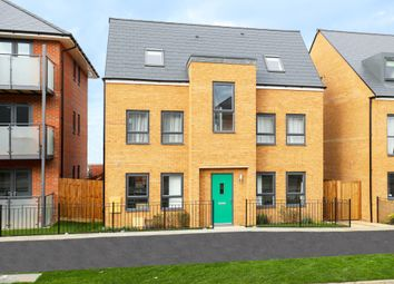 """Thumbnail 4 bed detached house for sale in """"Hexley"""" at Fen Street, Brooklands, Milton Keynes"""