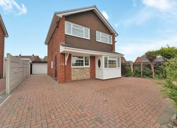 Thumbnail 3 bed detached house for sale in Soberton Close, Wednesfield, Wolverhampton
