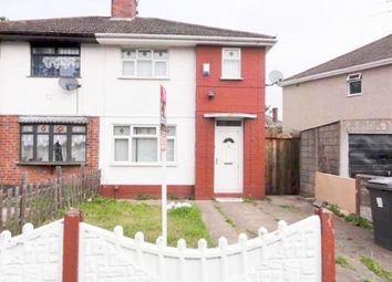 Thumbnail 3 bed semi-detached house to rent in Crathorne Avenue, Wolverhampton