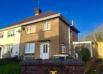 Thumbnail 3 bed semi-detached house for sale in St James Crescent, Pyle, Bridgend