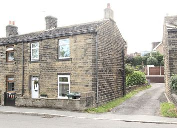 Thumbnail 2 bed end terrace house for sale in Abbey Road, Shepley, Huddersfield, West Yorkshire